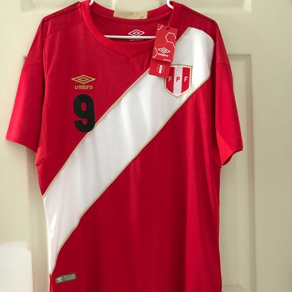 4a8023b02 Peru away 2018 world cup jersey. NWT. Umbro
